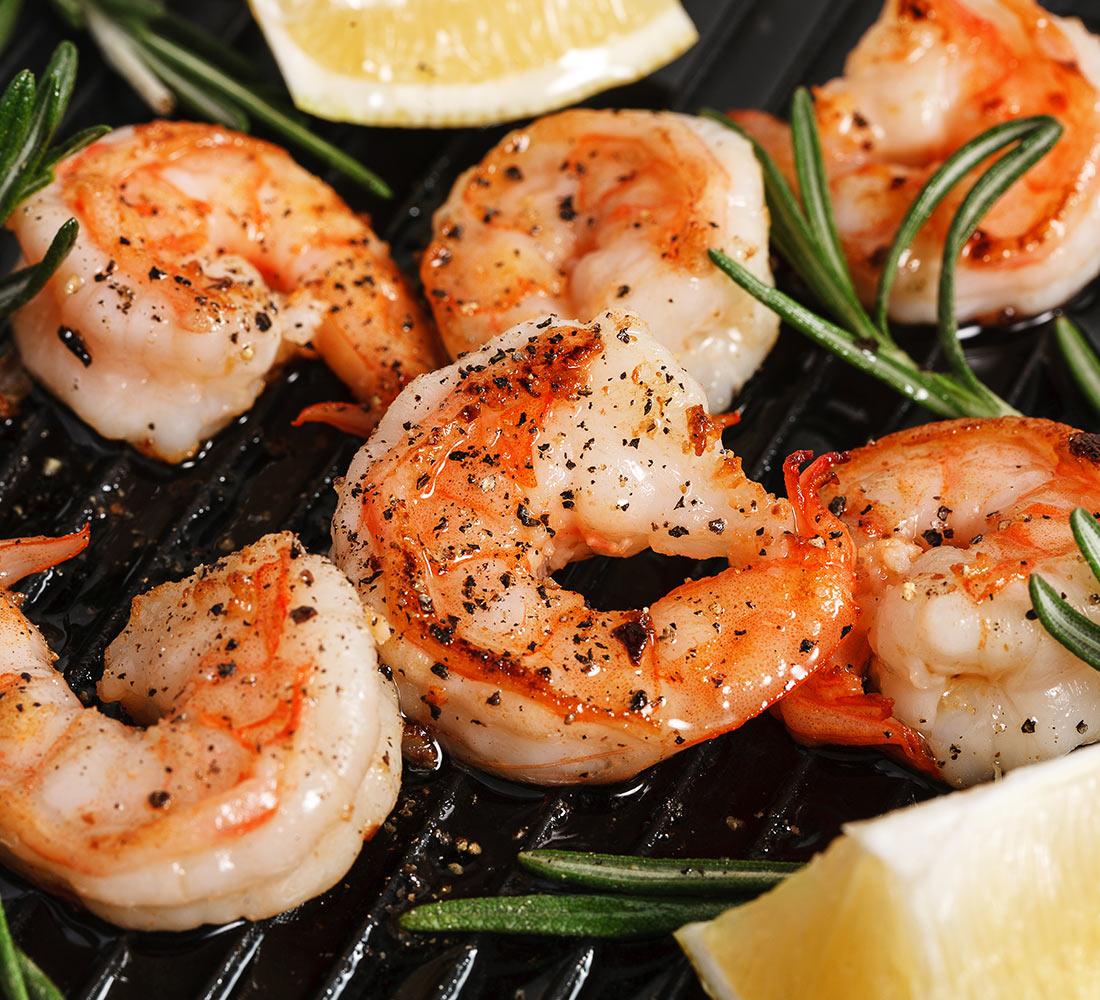 przepis krewetki grillowane recipe grilled shrimp
