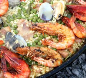 przepis paella z krewetkami i owocami morza paella recipe with shrimp and seafood