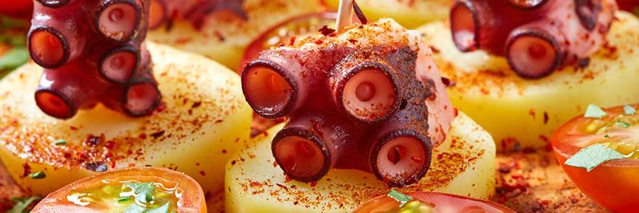 przepis ośmiornica po galicyjsku pulpo di galego octopus recipe
